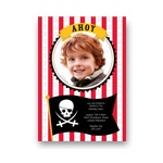 Ahoy Mate! -- Pirate Party Invitations