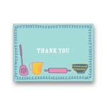 Kitchen Confections -- Kids Thank You Cards