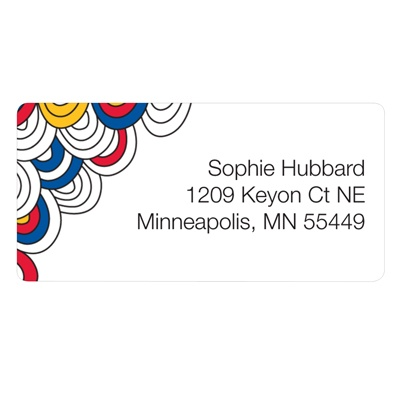 Imaginative Art Kids Address Labels