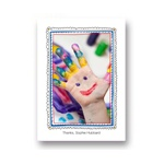 Imaginative Art -- Personalized Kids Thank You Card