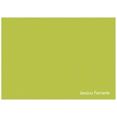 Simply Green Personalized Kids Thank You Cards