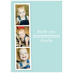 Photo Booth Session -- Kids Photo Thank You Cards