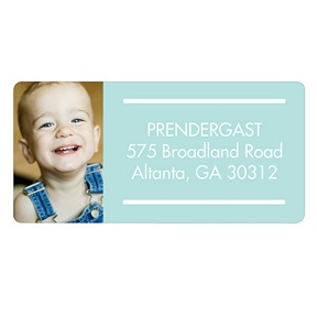 Picture Perfect -- Kids Address Labels
