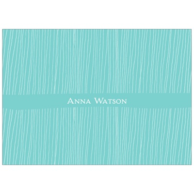 Sketched Stripes Kids Thank You Cards