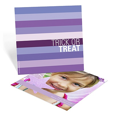 Trick or Treat! Halloween Photo Card