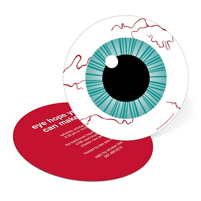 Eye Got You! Halloween Eyeball Party Invitation