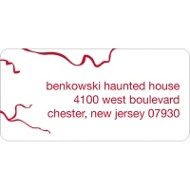 Eye Got You! Halloween Address Label