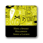 Halloween Graffiti -- Personalized Stickers