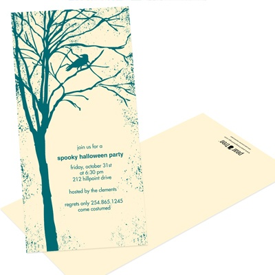 Spooky Woods -- Halloween Party Invitation