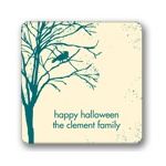 Spooky Woods -- Personalized Stickers
