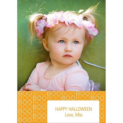 BOO! Halloween Photo Card
