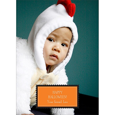 Halloween Stamp -- Halloween Photo Card
