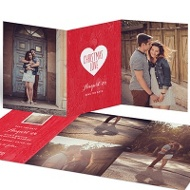 Full Hearts Save The Date Cards
