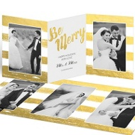 All Is Golden Faux Foil Save The Date Cards