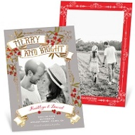 Merry Berries Save The Date Cards