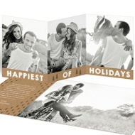 Pine Forest Save The Date Cards