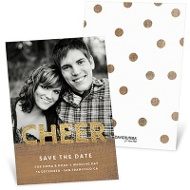 Lots Of Cheer Save The Date Cards