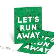 Run Away Note Cards