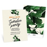 Verdant Vines -- Party Invitations