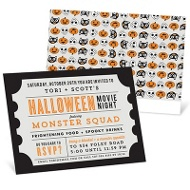 Fright Flick Party Invitations