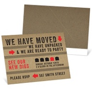New Digs Party Invitations