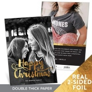 Happy Foil Premium Christmas Cards