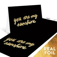Gold Sunshine Note Cards