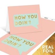 Doin' Fine Note Cards
