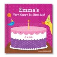 My Very Happy Birthday Book For Girls Personalized Children's Books