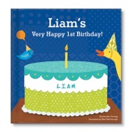 My Very Happy Birthday Book For Boys
