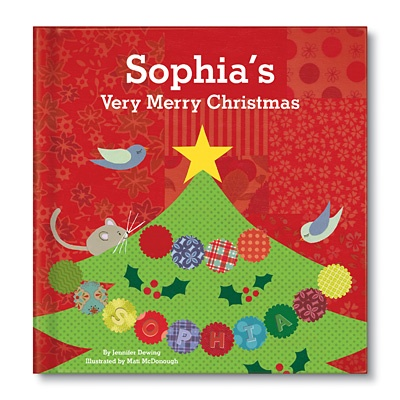 My Very Merry Christmas Personalized Children's Books