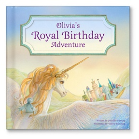 My Royal Birthday Adventure For Girls -- Personalized Children's Books