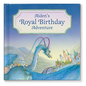 My Royal Birthday Adventure For Boys -- Personalized Children's Books