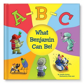 ABC What Can I Be -- Personalized Children's Books