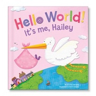 Hello World! in Pink Personalized Children's Books
