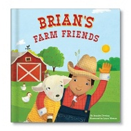My Farm Friends Personalized Children's Books