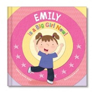 I'm A Big Girl Now Personalized Children's Books