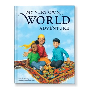 My Very Own World Adventure -- Personalized Children's Books