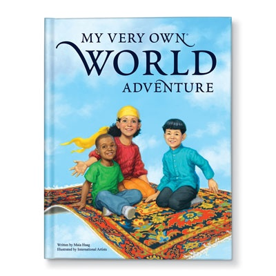 My Very Own World Adventure Personalized Children's Books