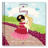 A Day in the Life of a Princess Personalized Children's Books