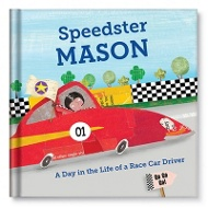 A Day in the Life of a Racecar Driver Personalized Children's Books