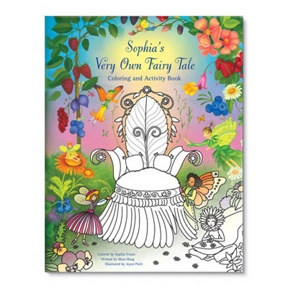 My Very Own Fairy Tale -- Kids Coloring Books