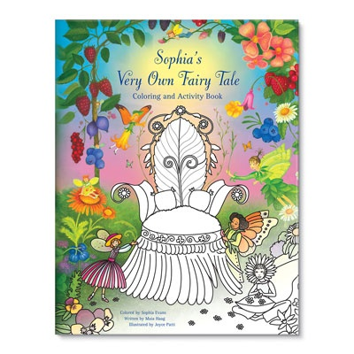 My Very Own Fairy Tale Kids Coloring Books