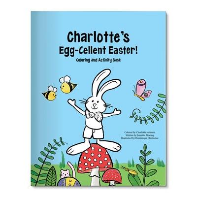 Egg-cellent Easter Kids Coloring Books