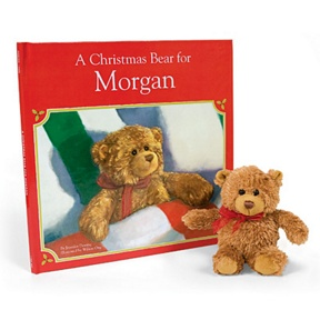 A Christmas Bear for Me -- Personalized Children's Books