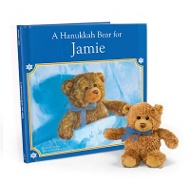 A Hanukkah Bear for Me Personalized Children's Books