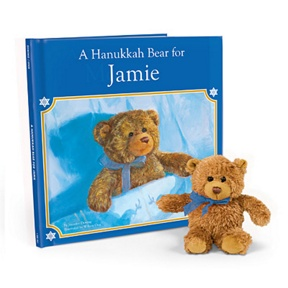 A Hanukkah Bear for Me -- Personalized Children's Books
