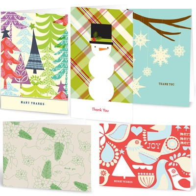 Ho Ho Holiday --  Note Card Sets