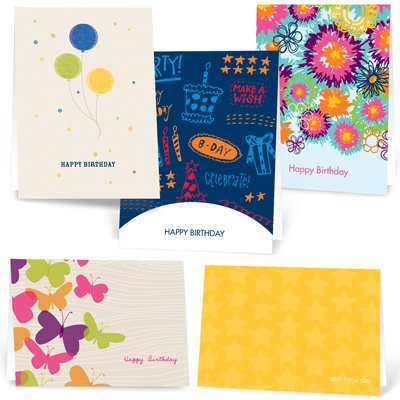 Kids Birthday Blowout --  Note Card Sets