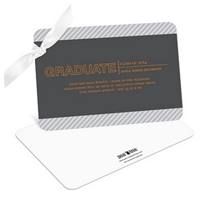 Elegant Angles -- Graduation Announcements